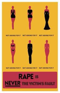 never the victims fault
